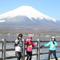 小瀧靖夫「山中湖畔からの富士山」