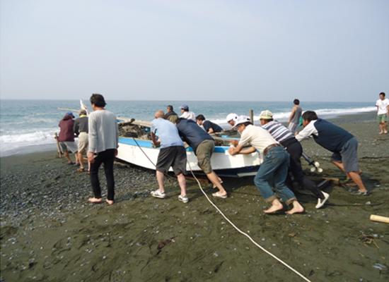 20110607いそっこ海の教室-地曳網01