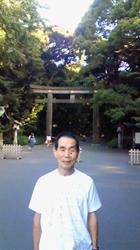 20100715明治神宮にて