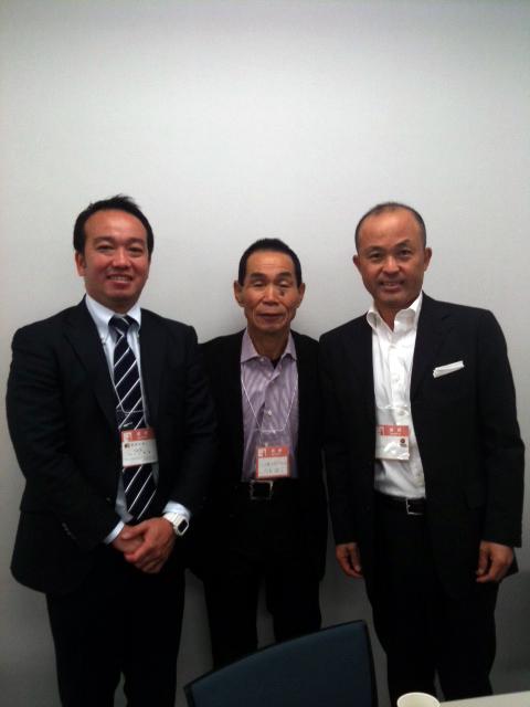 20101218金哲彦さんと土江寛裕さん
